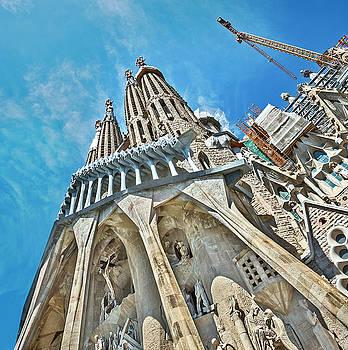 Sagrada Familia by Alida Thorpe
