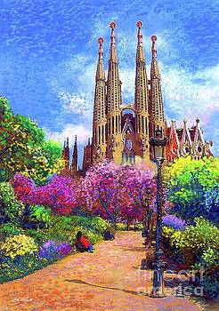 Sagrada Familia and Park,Barcelona by Jane Small