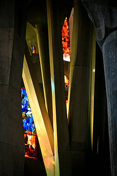 Jonathan Hansen - Sagrada Familia Stained Glass