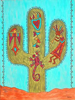 Saguaro Soiree by Susie WEBER