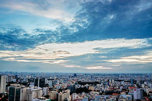 Sai Gon afternoon by Tran Minh Quan