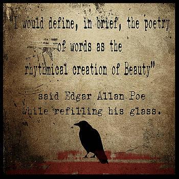 Said Edgar Allan Poe by Cinema Photography