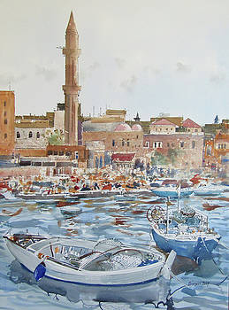 Saida from the Sea by Martin Giesen
