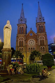 Saigon Notre Dame Cathedral by Hitendra SINKAR
