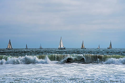 Sail Boats by Steven Michael