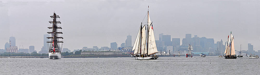 Sail Boston 2017 Union and Spirit of South Carolina by John Brown