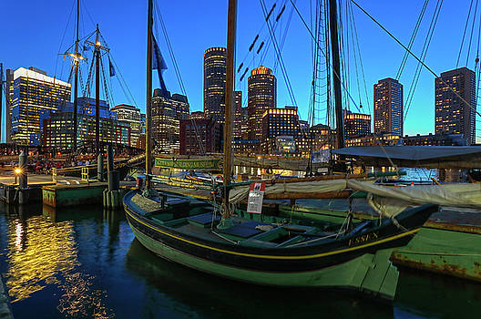 Sail Boston Tall Ship Essex by Juergen Roth