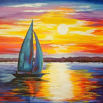 Sail into the Sunsrt by Sandra Lett