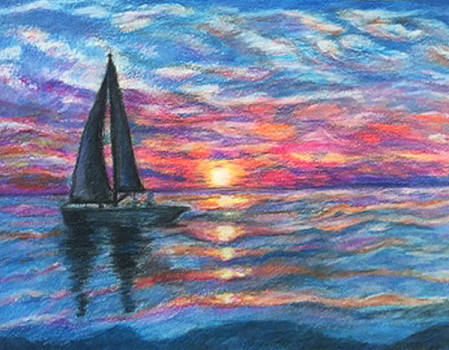 Sail On And Fly Like the Wind by The Art With A Heart By Charlotte Phillips