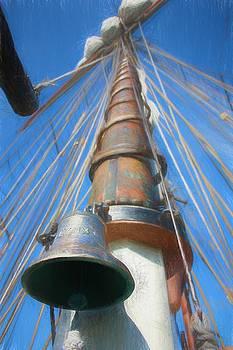 Sail the Sea - Lynx Ship's Bell by Chrystyne Novack
