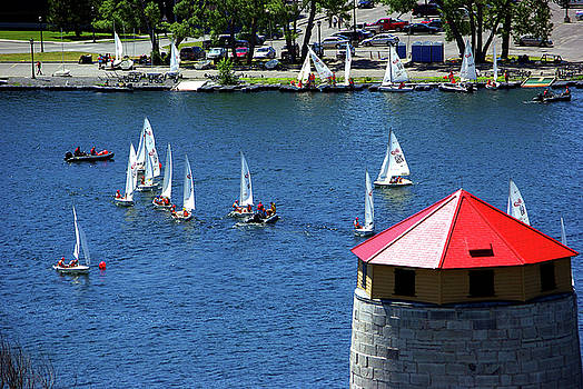 Sail Training at RMC by Paul Wash