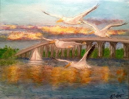 Larry Lamb - Sailboat Bridge Grove Oklahoma