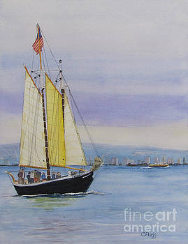 Sailboat by Carol Flagg