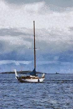 Sailboat by Chris Bird