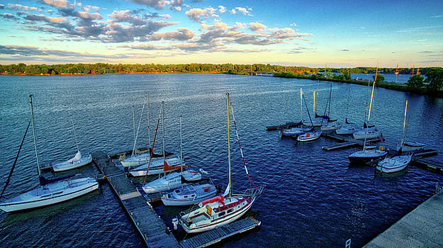 Sailboat Club  by George Strohl