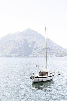 Sailboat, Lake Como by Brooke T Ryan