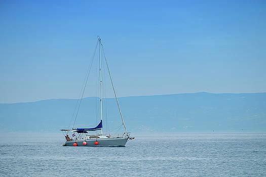 Elenarts - Elena Duvernay photo - Sailboat on the mediterranean sea, Split, Croatia