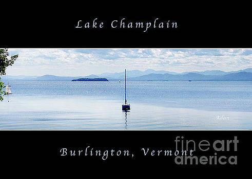 Felipe Adan Lerma - Sailboat Resting Panorama Greeting Card Poster High Impact