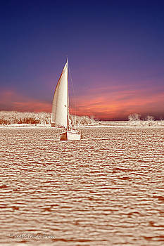 Sailboat Time Travel by Erich Grant
