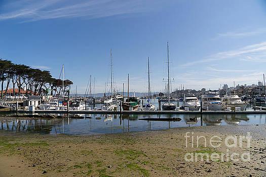 Wingsdomain Art and Photography - Sailboats At St Francis Yacht Club Harbor San Francisco California DSC3092