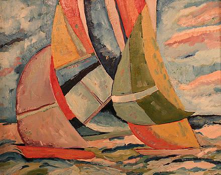 Sailboats by Biagio Civale