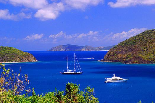 Gary Wonning - Sailboats in St. John