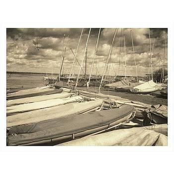 Sailboats Up At Maylandsea  photo And by Andrew Hunter