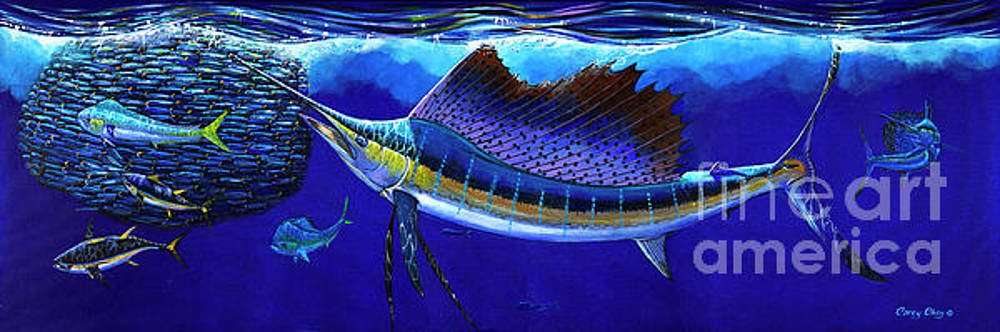 Sailfish Commotion by Carey Chen