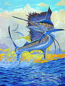 Sailfish Sunset by Carey Chen