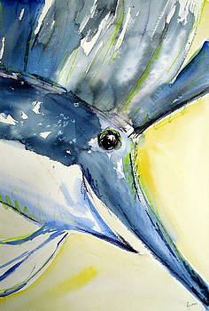 Sailfish Triptych by Rachel Dutton