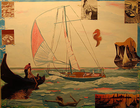 Sailing and other boats by Biagio Civale