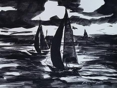 Sailing at Midnight by Sallie Wysocki
