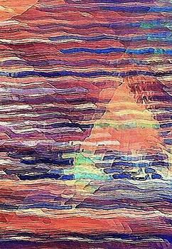 Sailing at Sunset by David Manlove