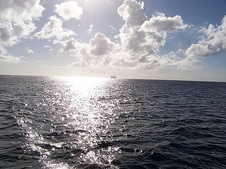Sailing away by David Button
