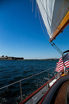 Sailing Away by Karol Livote
