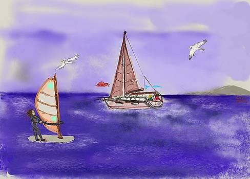 Sailing by Christina K