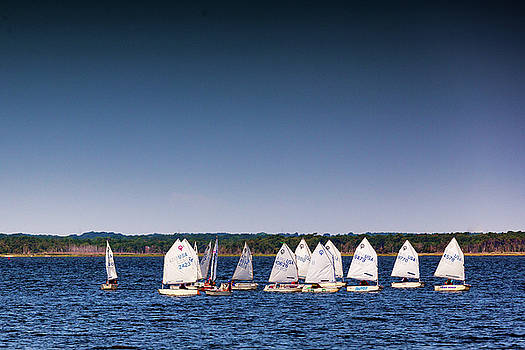 Sailing Class by David Oakill