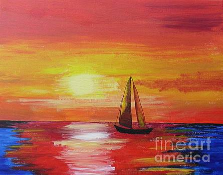 Sailing by Dawn Plyler