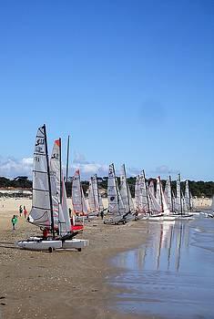 Cathy MONNIER - sailing day