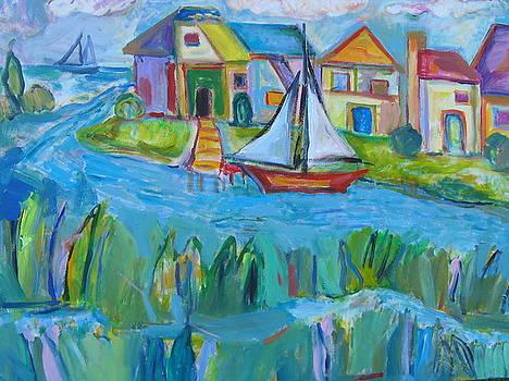 Sailing Day by Marlene Robbins