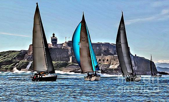 Sailing El Morro  by Carey Chen