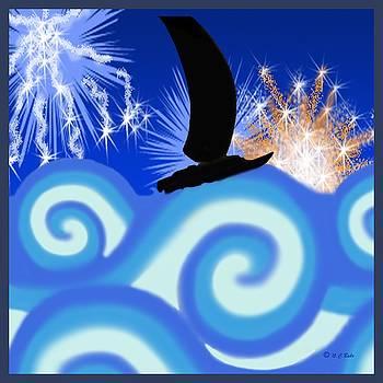 Sailing Fireworks by Ceci Bahr