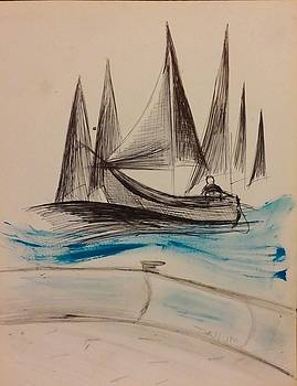 Sailing by Gregory Dallum