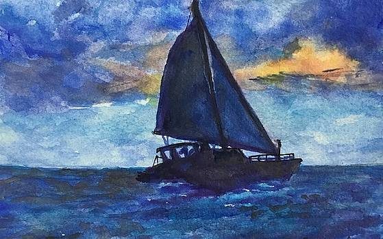 Sailing in Blue by Cheryl Wallace