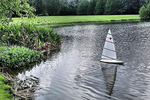 Sailing In The Park by Kathy K McClellan