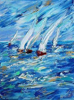 Sailing into the Blue by Karen Tarlton