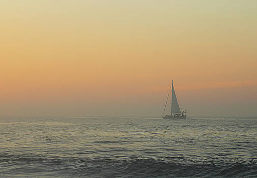 Sailing Into The Mist by Robert Banach