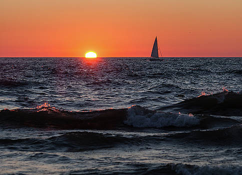Sailing into the Sunset by Fran Riley