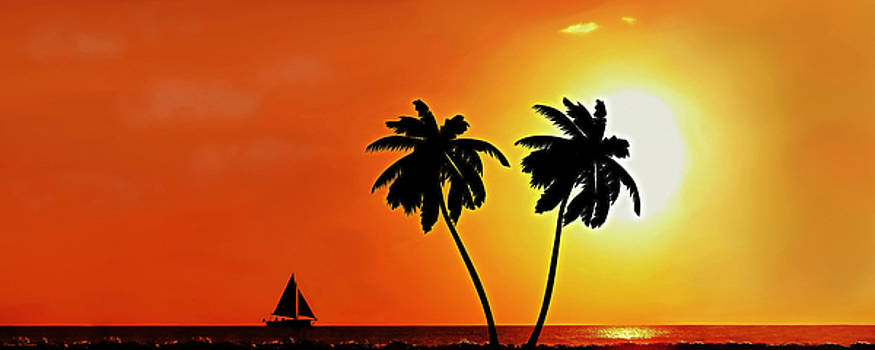 Sailing Into The Sunset by Pennie McCracken