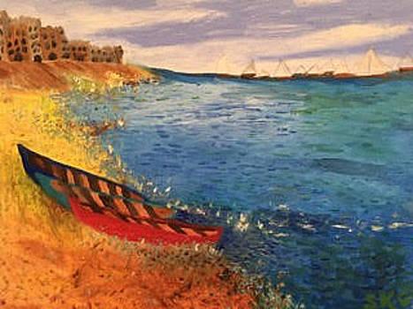 Sailing Naples Bay by Susan Grunin